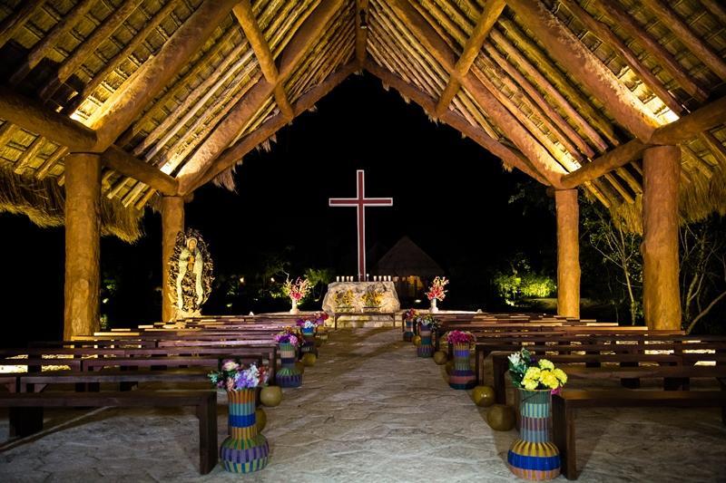 Se inaugura Capilla en Xoximilco Cancún