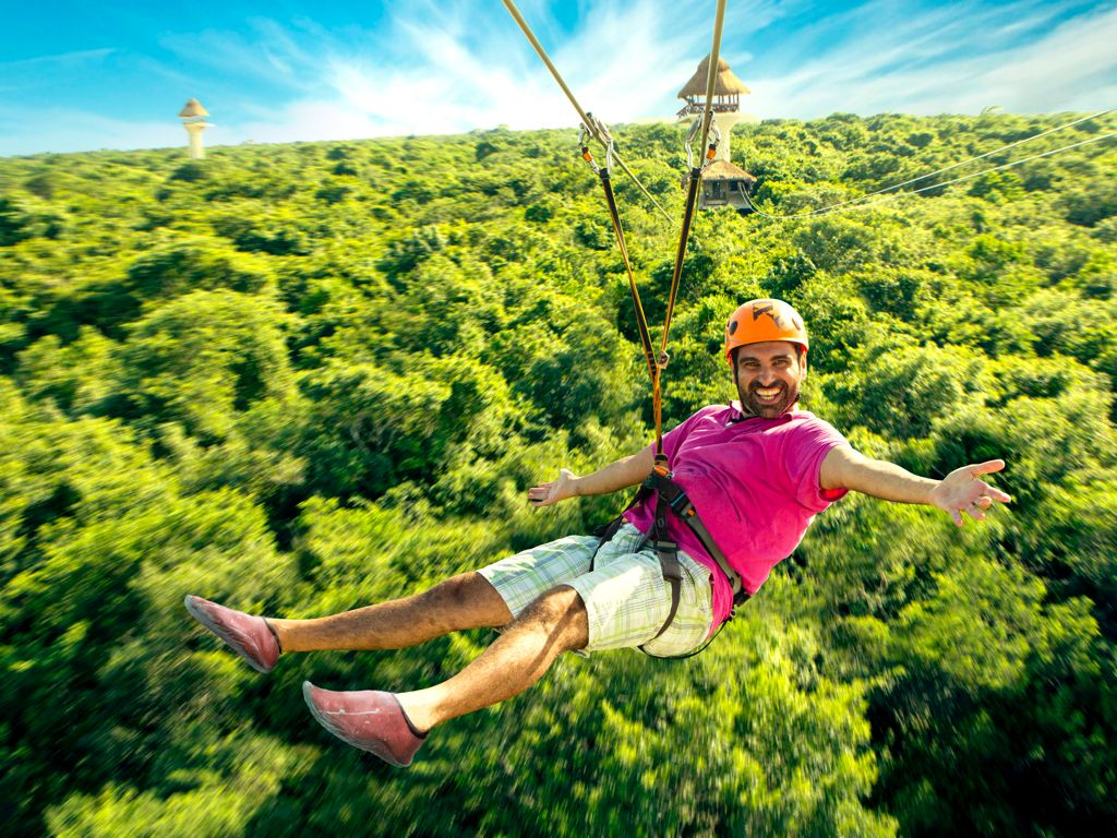 En Xplor está una de las tirolesas de México más extremas y buscadas por los turistas.
