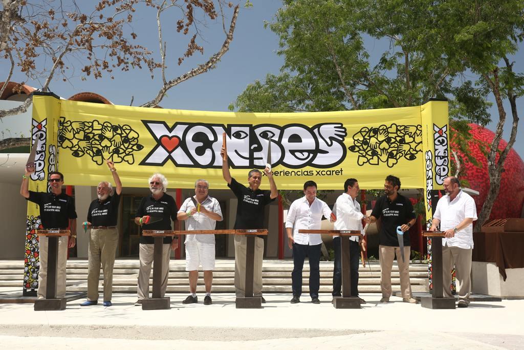 Abre xenses sexto parque de experiencias xcaret for Oficina xcaret cancun